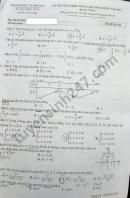 Đáp án đề thi môn Toán tốt nghiệp THPT 2021 mã đề 102