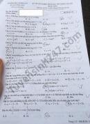 Đáp án đề thi tốt nghiệp THPT 2021 - môn Toán mã đề 119