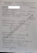 Đáp án đề thi tốt nghiệp THPT 2021 mã đề 124 môn Toán