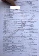 Đáp án đề thi môn Sinh tốt nghiệp THPT 2021 - mã đề 208