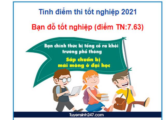 Công cụ tính điểm tốt nghiệp THPT 2021 đỗ hay trượt nhanh nhất