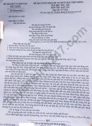 Đáp án đề thi vào lớp 10 môn Văn - tỉnh Bắc Giang năm 2021
