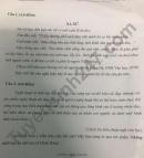 Đáp án đề thi vào lớp 10 môn Văn chuyên - tỉnh Bắc Ninh 2021