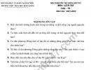 Đề cương giữa kì 1 môn Sử lớp 10 THPT Trần Phú 2021