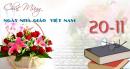 Lời chúc 20-11 hay và ý nghĩa