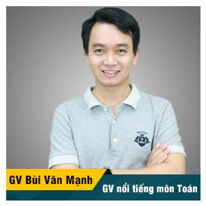 Thầy Bùi Văn Mạnh