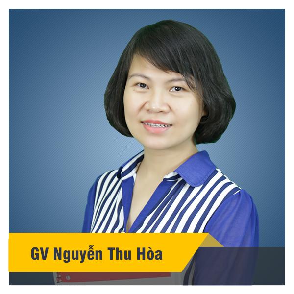 Cô Nguyễn Thu Hòa
