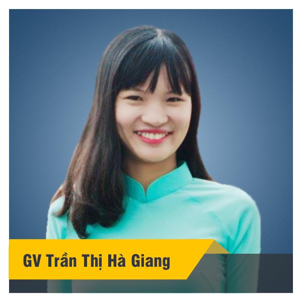 Cô Trần Hà Giang